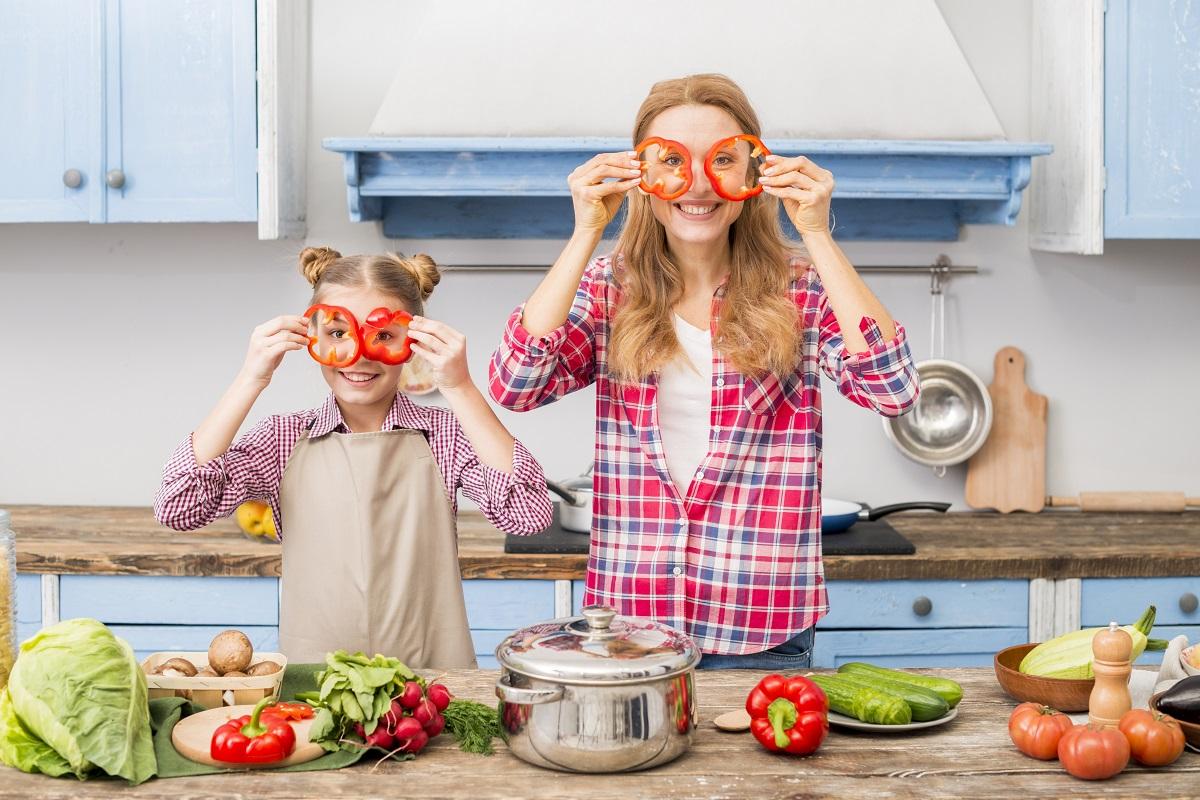 ¿Cómo lograr que los niños coman verduras?
