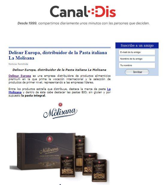 Pastas BIO, sin glúten e integral de La Molisana